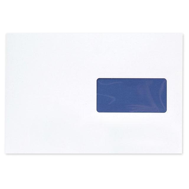 Window envelopes Blake Premium Pure Envelopes Pocket Peel & Seal Window 120gsm C5 Super White Wove Ref RP83084 Pack 500