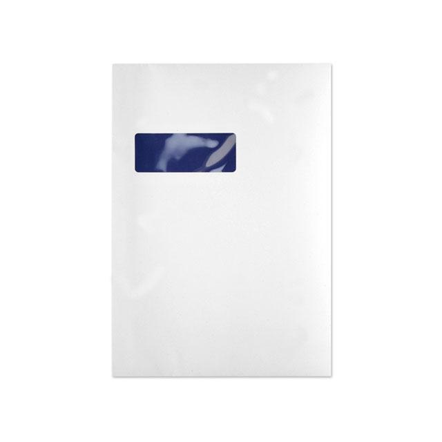 Standard envelopes Blake Premium Pure Envelopes Pocket Peel & Seal Window 120gsm C4 Super White Wove Ref RP84892 Pack 250