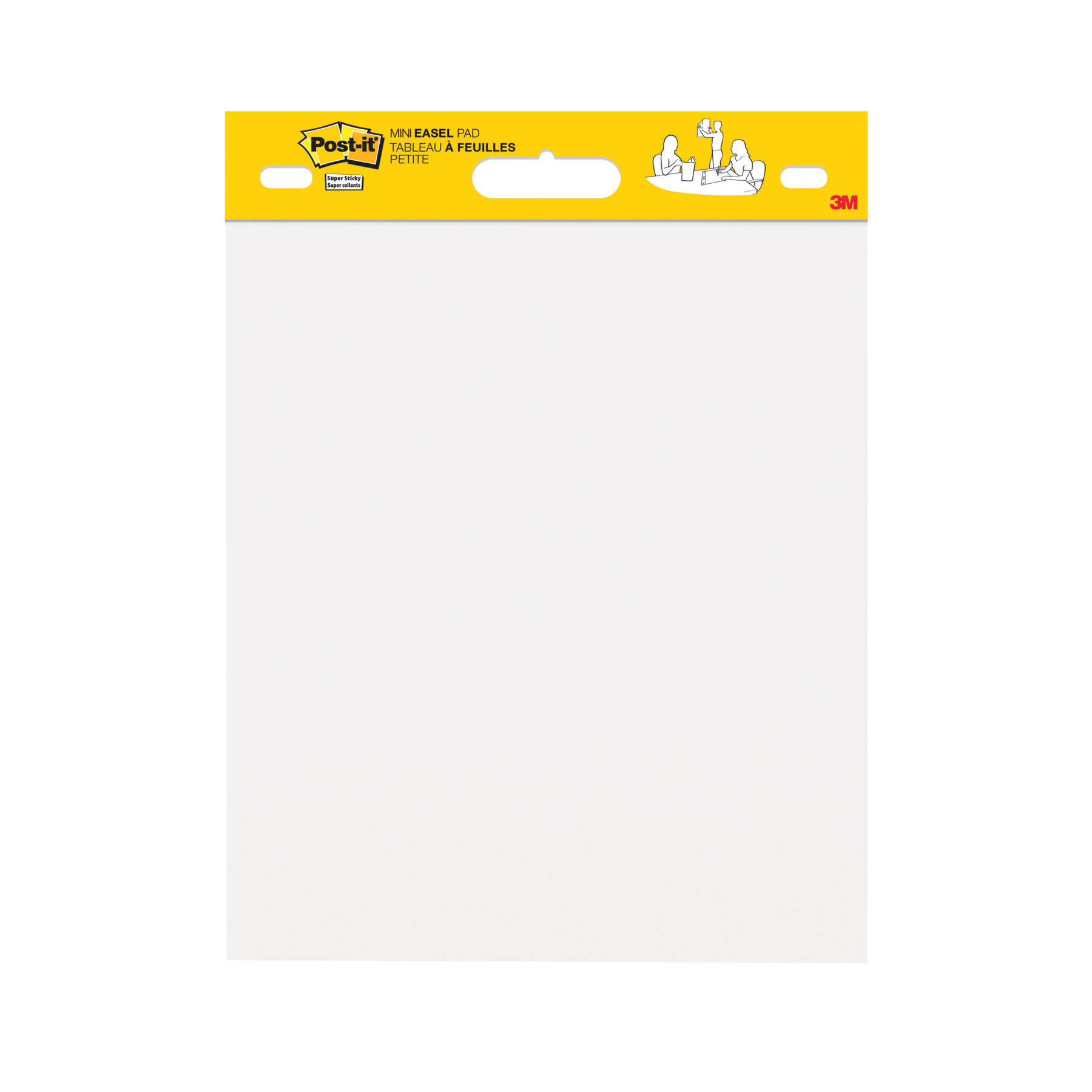 Self adhesive note paper Post-It Mini Meeting Chart 20 sheets 381x457mm White Ref 577SS