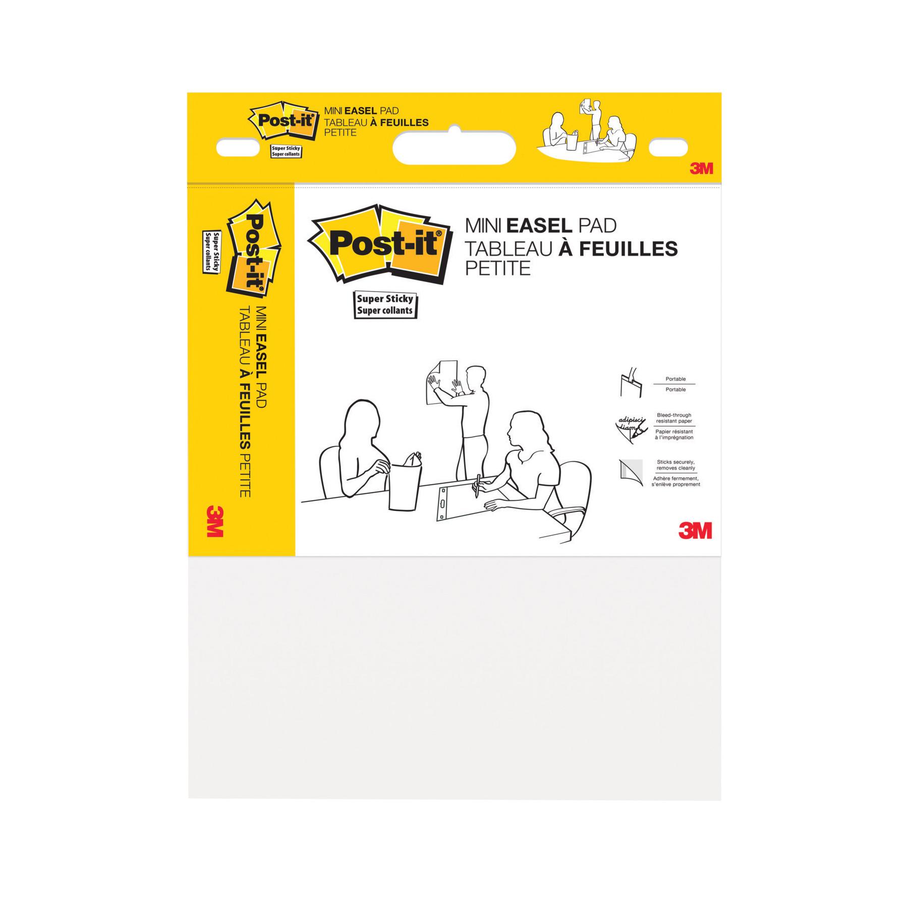 Post-It Mini Meeting Chart 20 sheets 381x457mm White Ref 577SS