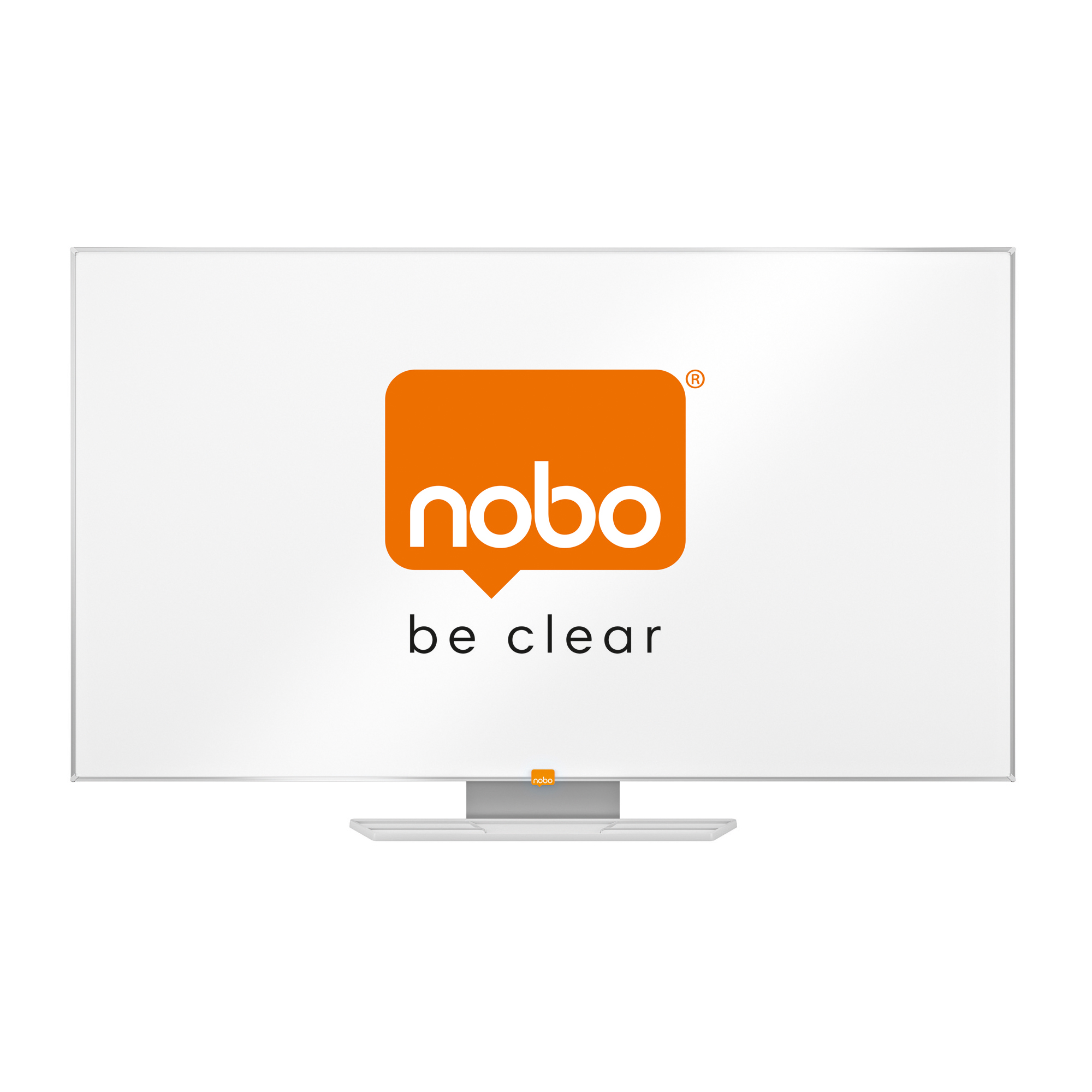 Nobo Whiteboard Widescreen 55 Inch Melamine Surface Magnetic W1229xH698 White Ref 1905293
