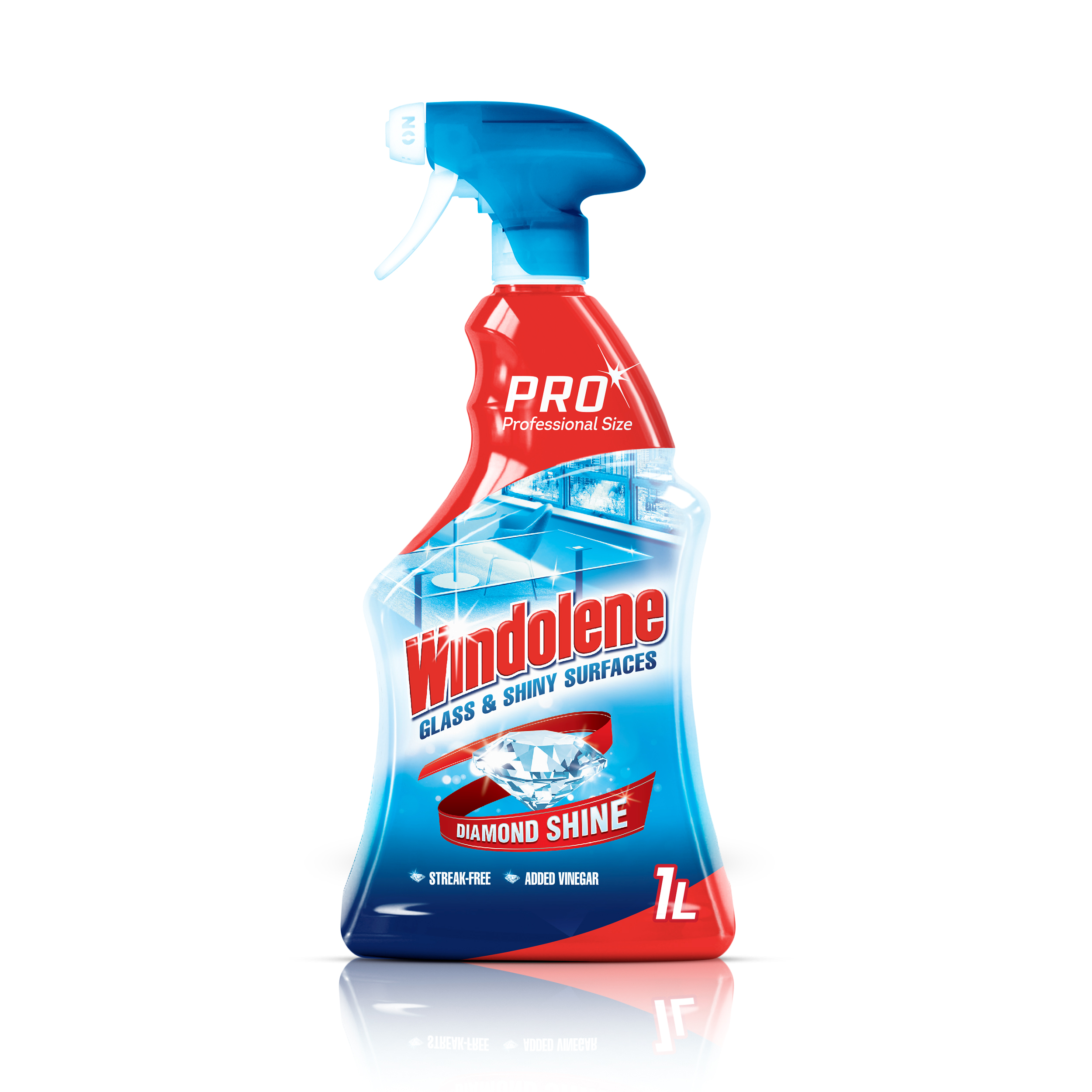 Windolene Glass & Shiny Surface Cleaner 1 Litre