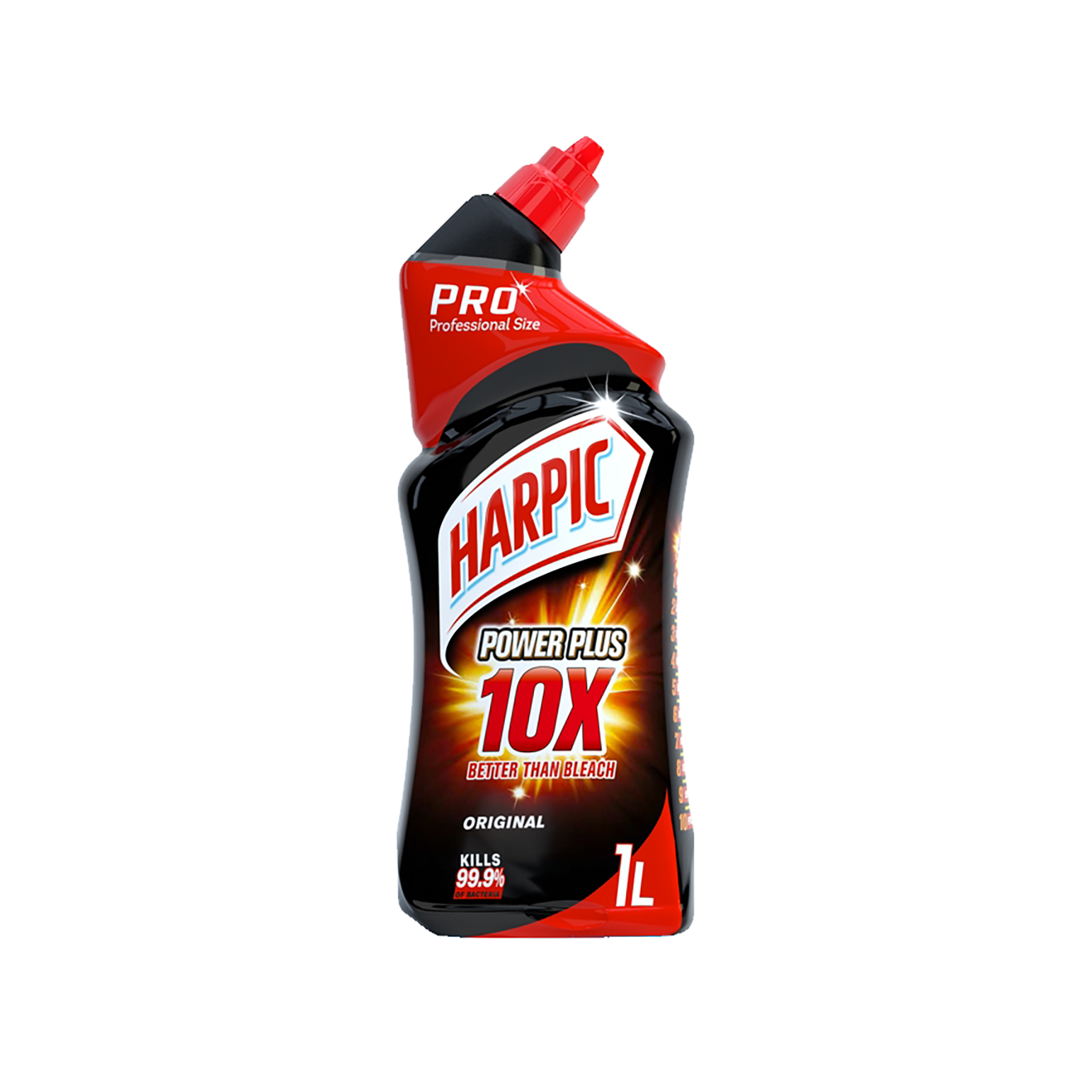 Urinal or toilet accessories Harpic Power Plus 10X Toilet Cleaner 1 Litre Ref RB501066