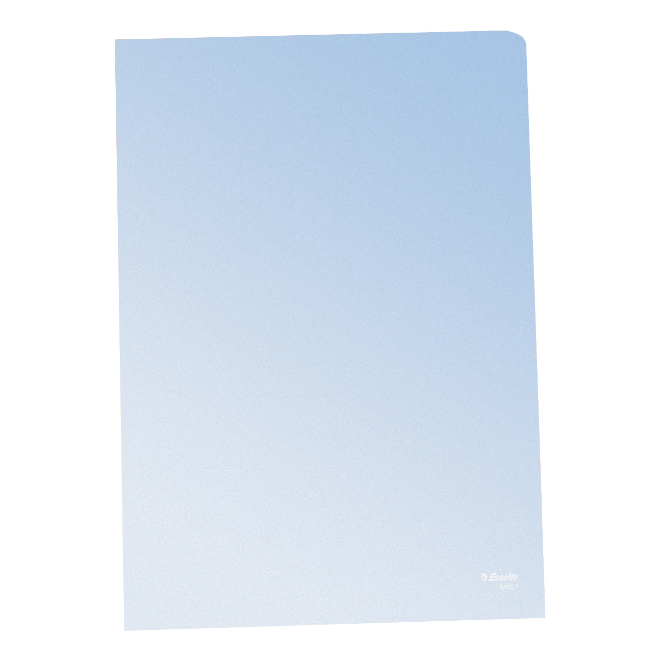 Esselte Copy-safe Folder Plastic Cut Flush A4 Clear Ref 54830/54832 Pack 100