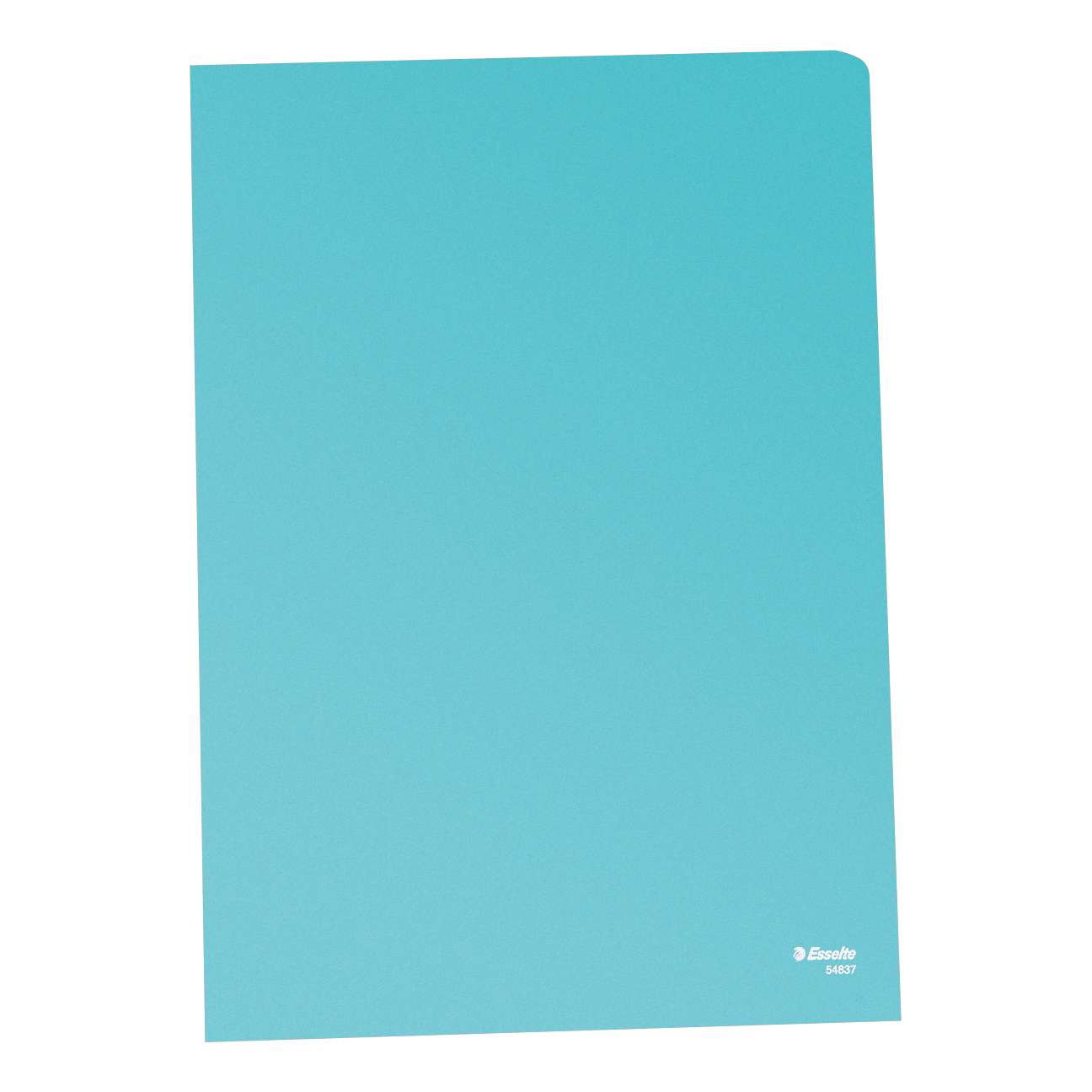 Esselte Copy-safe Folder Plastic Cut Flush A4 Blue Ref 54835/54837 Pack 100