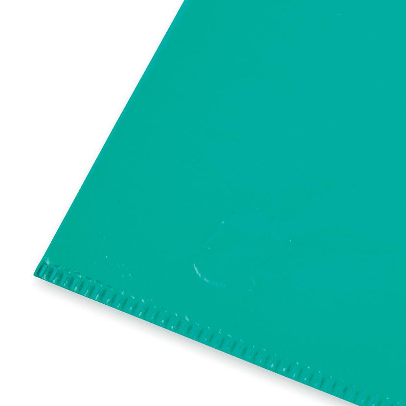 Image for 5 Star Office Folder Embossed Cut Flush Polypropylene Copy-safe Translucent 110 Micron A4 Green [Pack 25]