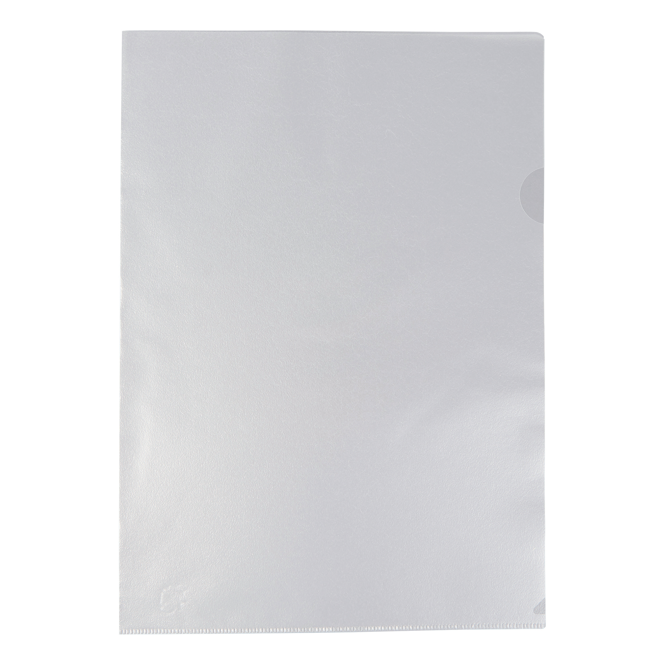 5 Star Office Folder Cut Flush Polypropylene Copy-safe Translucent 120 Micron A4 Frosted Clear [Pack 100]