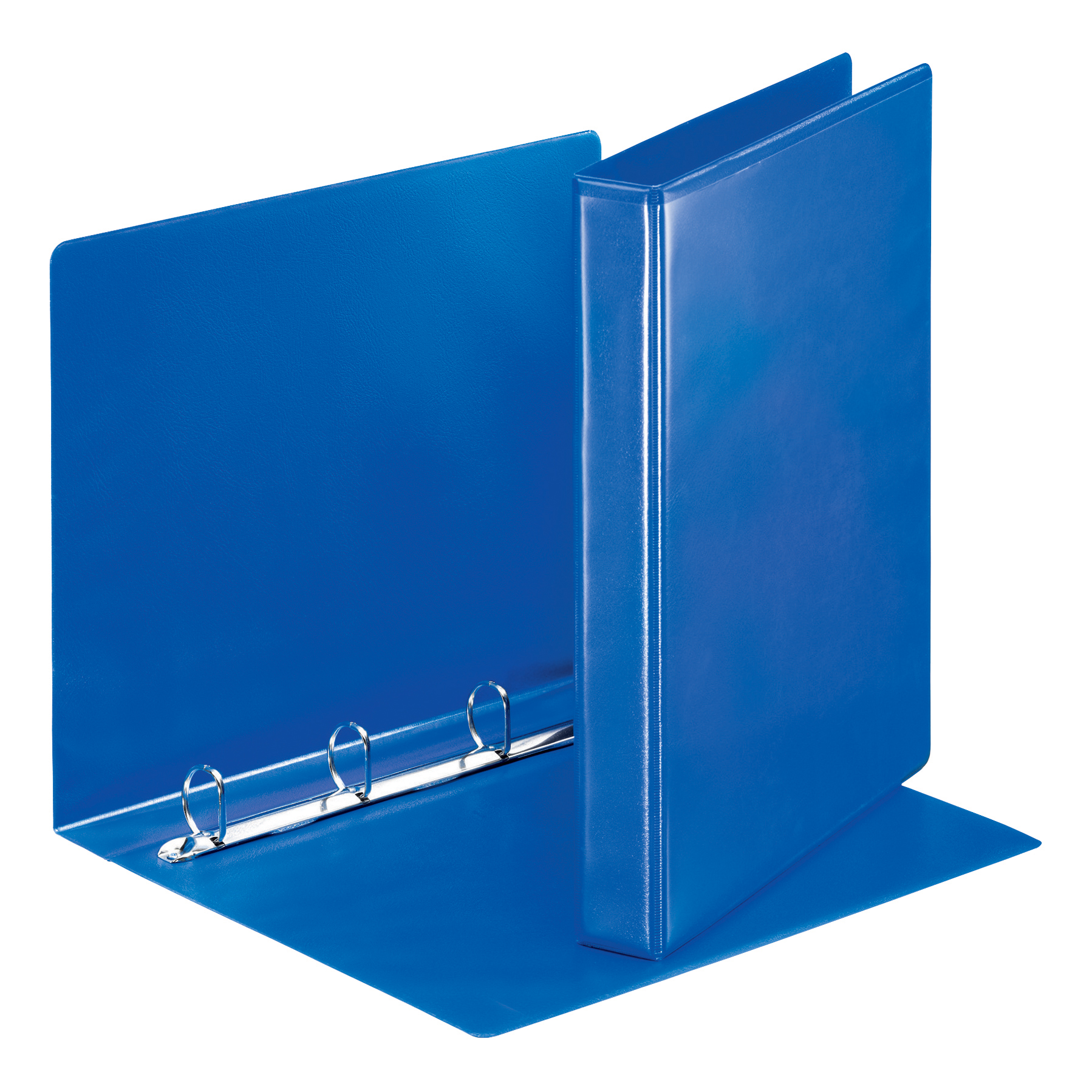 Esselte FSC Presentation Ring Binder Polypropylene 4 D-Ring 25mm A4 Blue Ref 49732 [Pack 10]