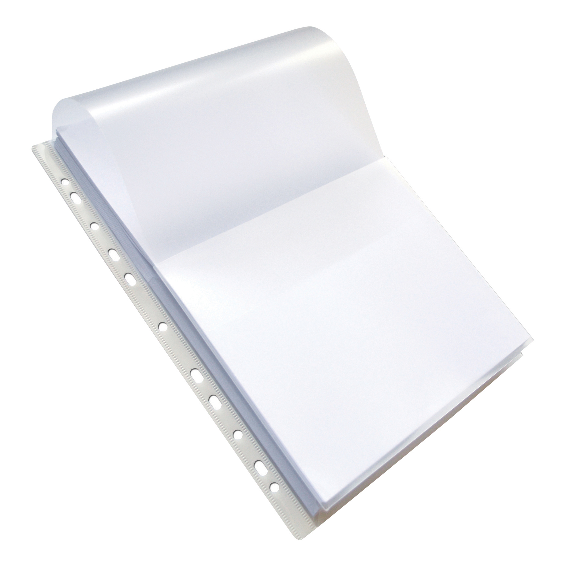 Oxford Expanding Pchd Pocket Extra Capacity Polyprop with Flap 180 Micron A4 Clr Ref 100080754 [Pack 10]