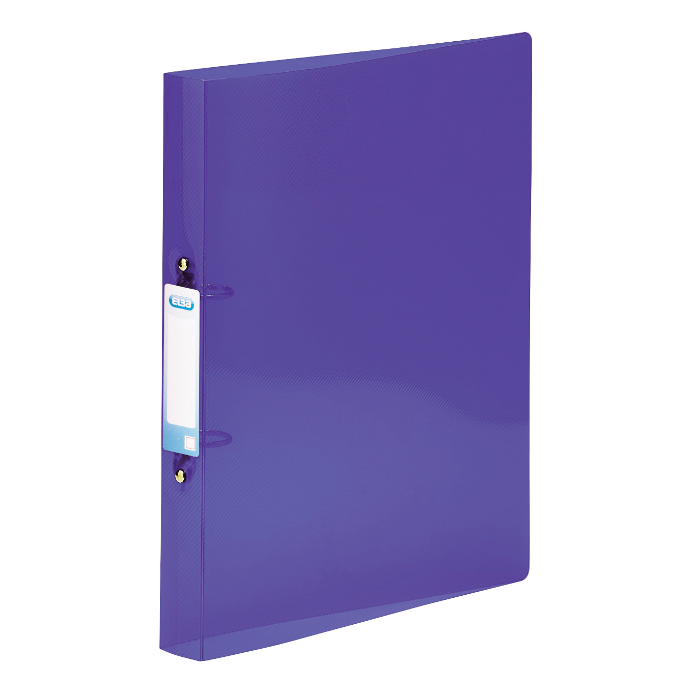 Elba Snap Ring Binder Polypropylene 2 O-Ring 25mm A4+ Purple Ref 400002003 [Pack 10]
