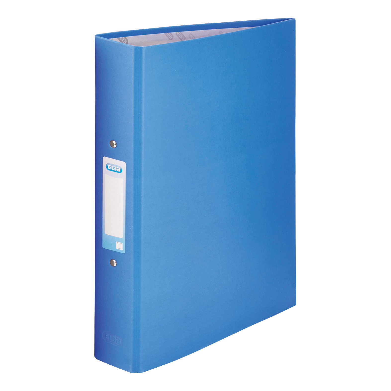 Image for Elba Ring Binder Paper On Board 2 O-Ring 25mm Size A4 Plus Blue Ref 400033496