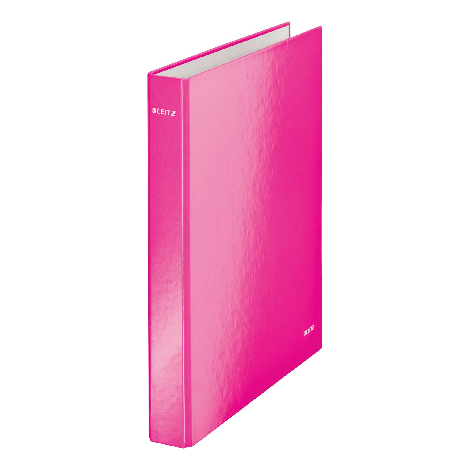 Leitz WOW Ring Binder 2 D-Ring 25mm Size A4 Pink Ref 42410023 Pack 10 COMPETITION