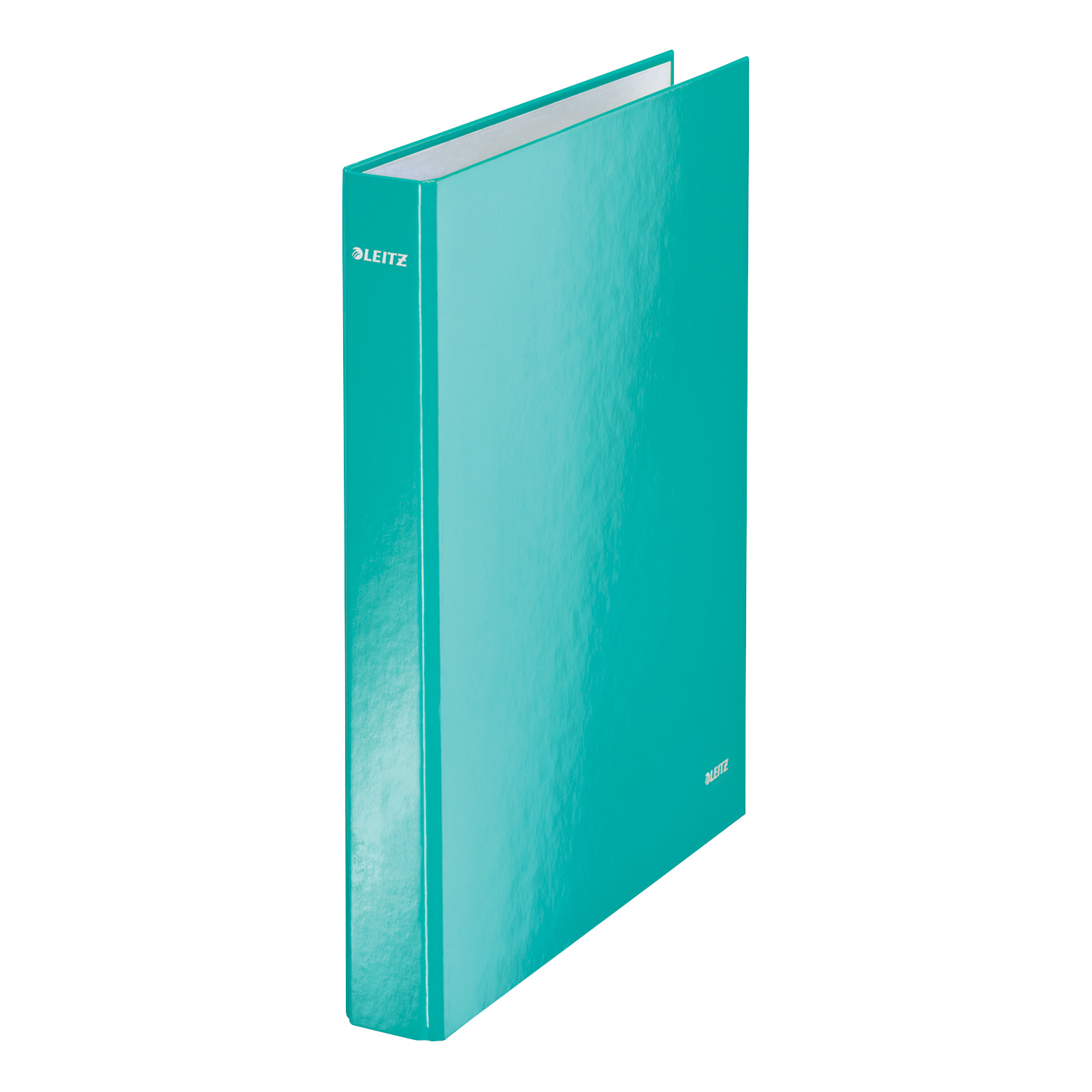 Leitz WOW Ring Binder 2 D-Ring 25mm A4 Ice Blue Ref 42410051 [Pack 10]