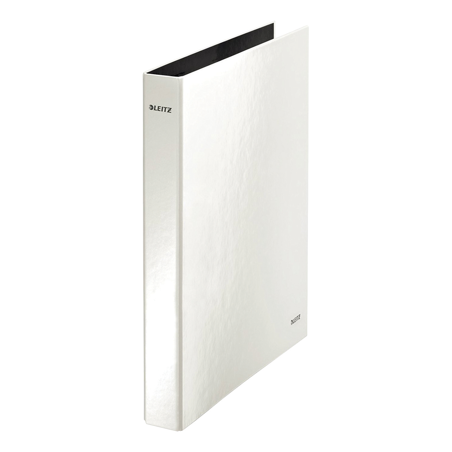 Leitz WOW Ring Binder 2 D-Ring 25mm A4 Pearl White Ref 42410001 Pack 10