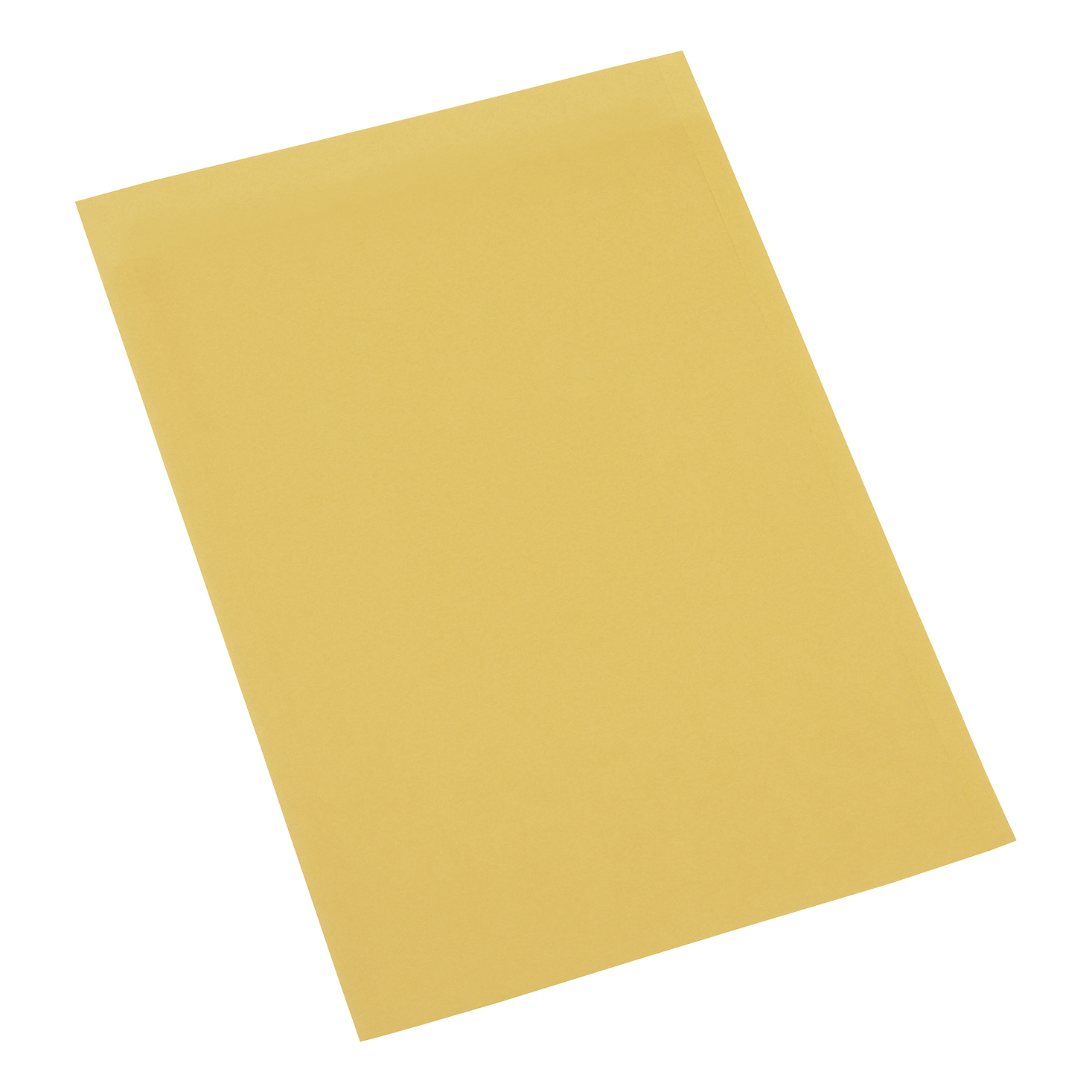 5 Star Office Square Cut Folder Recycled 180gsm Foolscap Yellow Pack 100