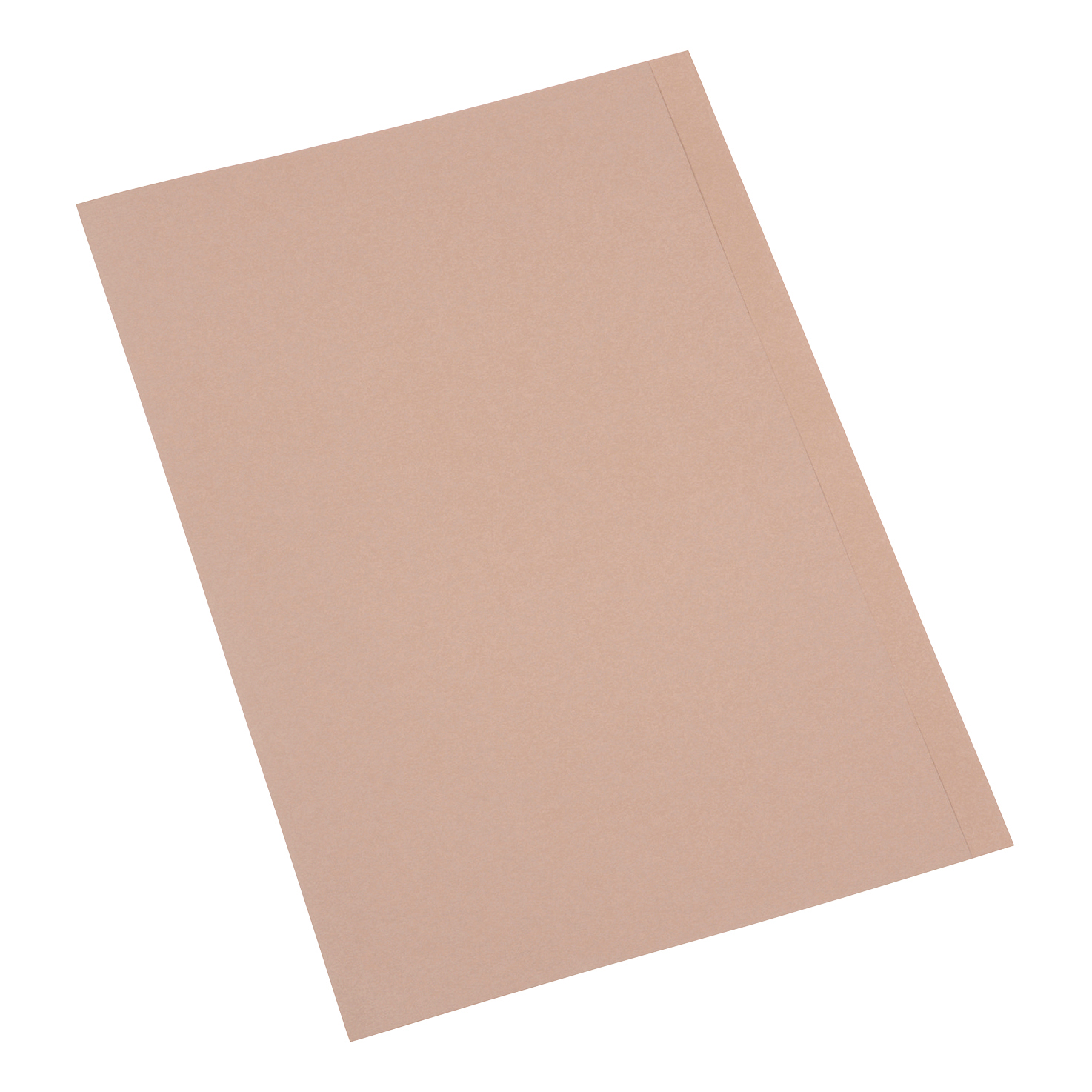 5 Star Office Square Cut Folder Recycled 250gsm Foolscap Buff [Pack 100]
