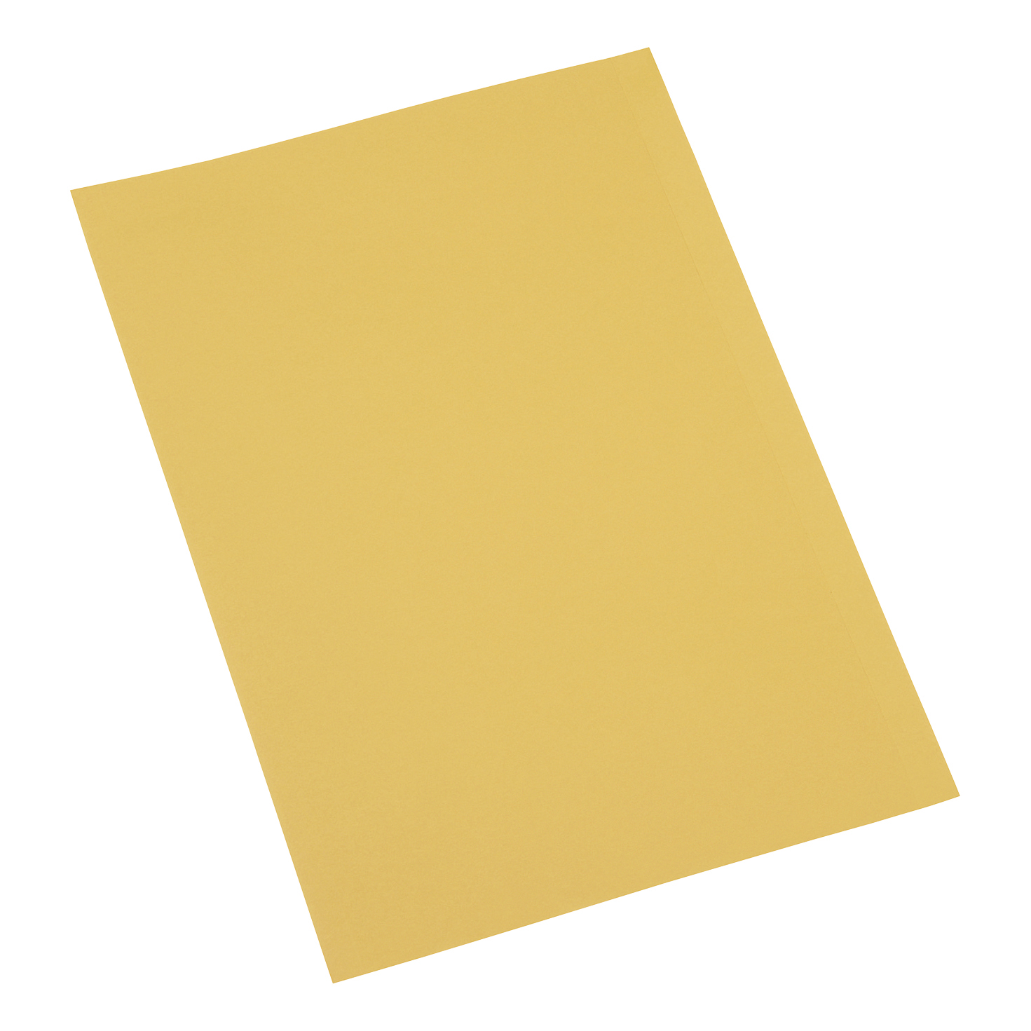 Folders 5 Star Office Square Cut Folder Recycled 250gsm Foolscap Yellow Pack 100