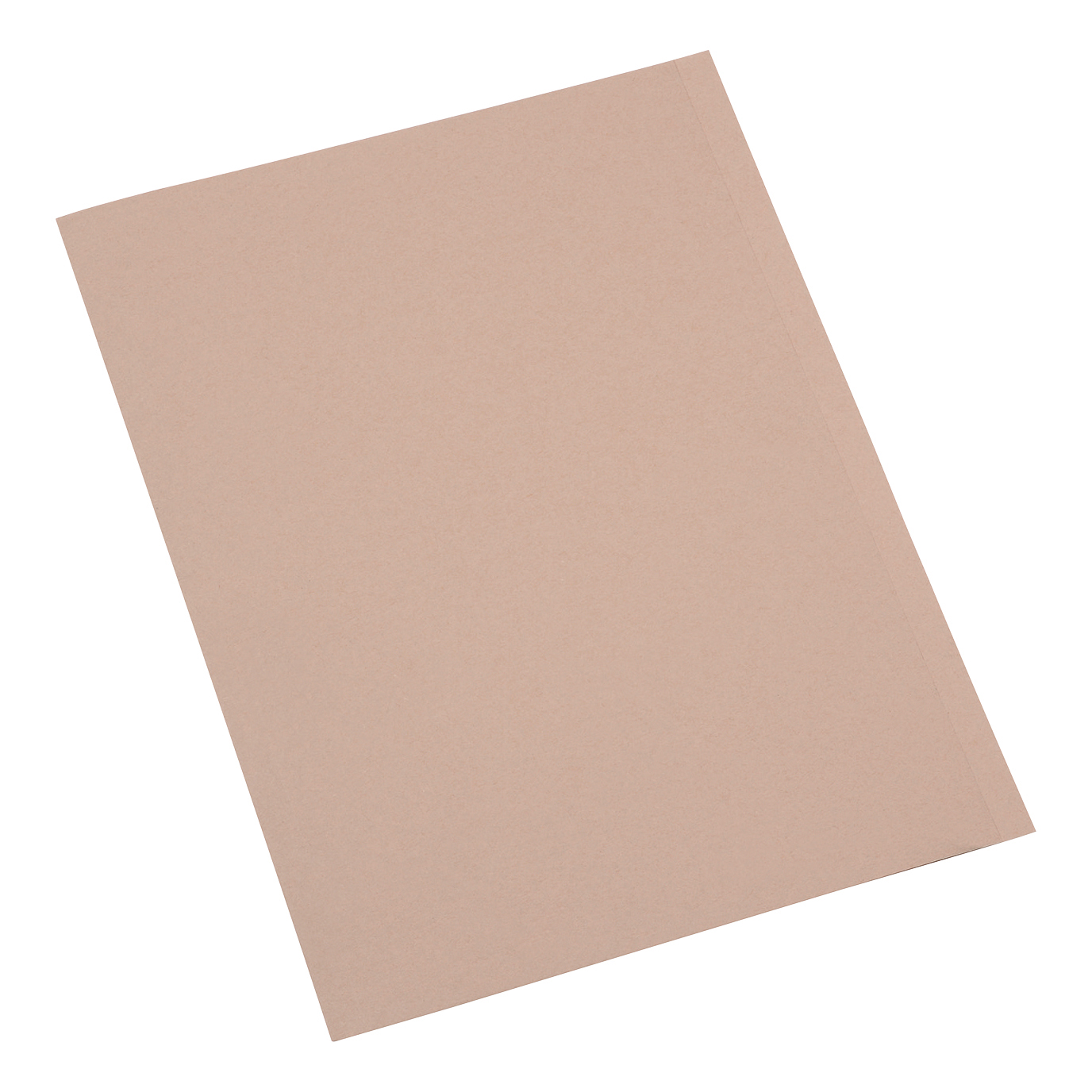 5 Star Office Square Cut Folder Recycled 250gsm A4 Buff [Pack 100]