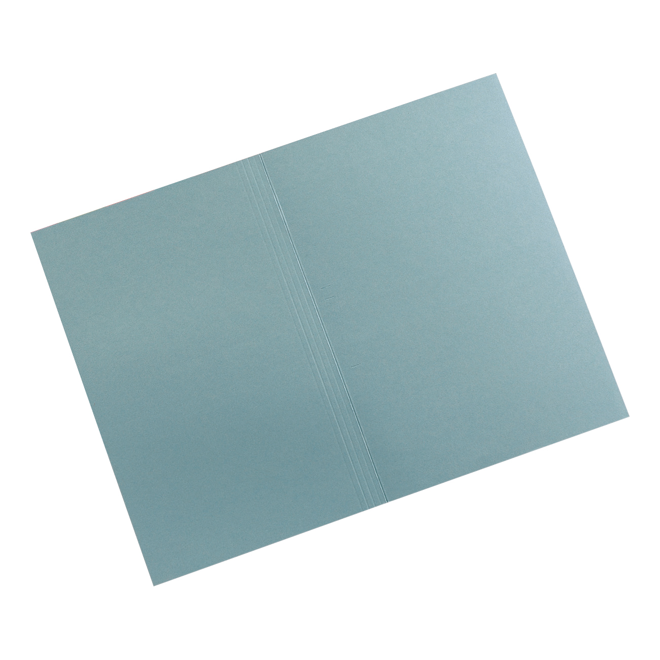 5 Star Elite Square Cut Folders 315gsm Heavyweight Manilla Foolscap Blue Pack 100