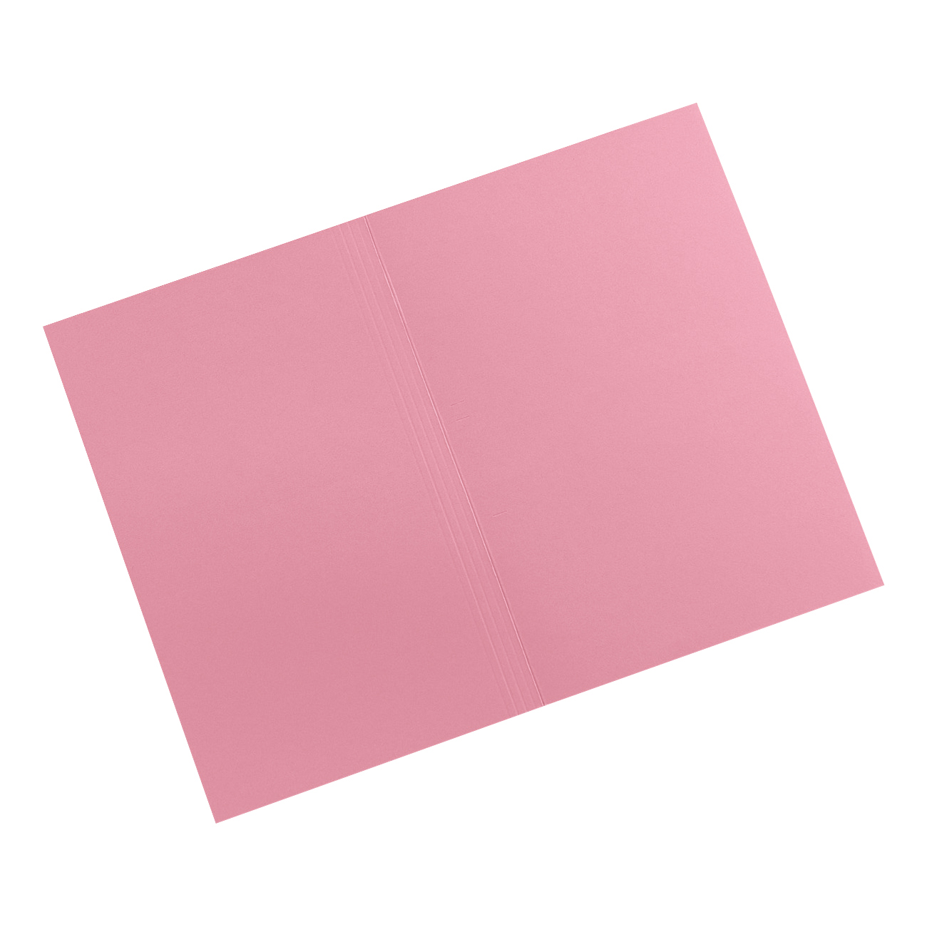 5 Star Elite Square Cut Folders 315gsm Heavyweight Manilla Foolscap Pink Pack 100