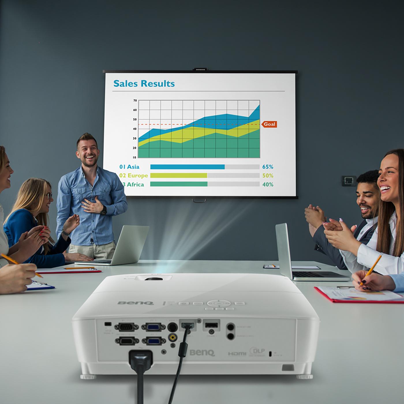 Benq MW535 Projector 1280x800 Eco-Friendly WXGA Dual HDMI White Ref MW535