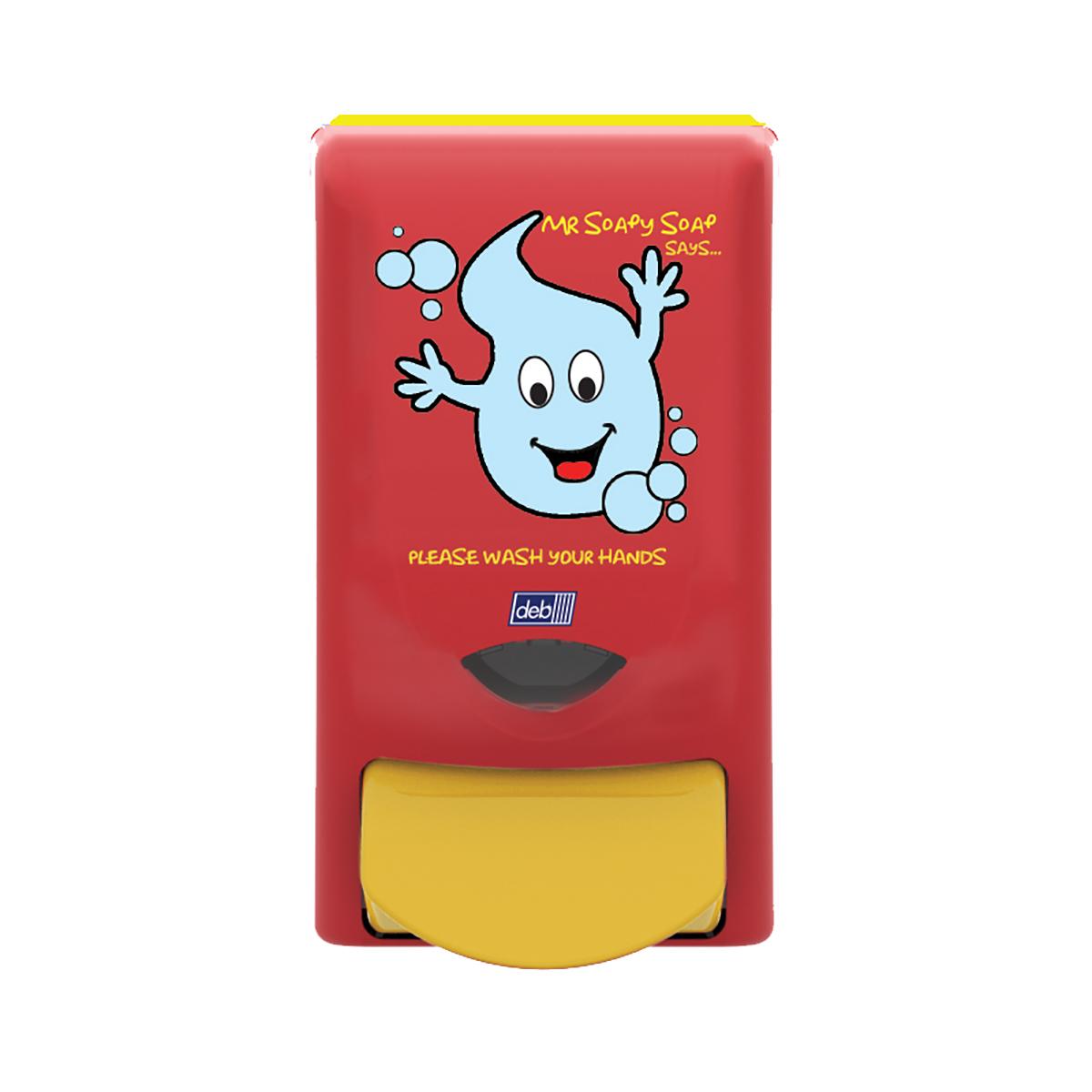 DEB Clear Foaming Hand Soap Refill Cartridge 1 Litre Ref N03869&FOC Mr Soapy [Free Dispenser]