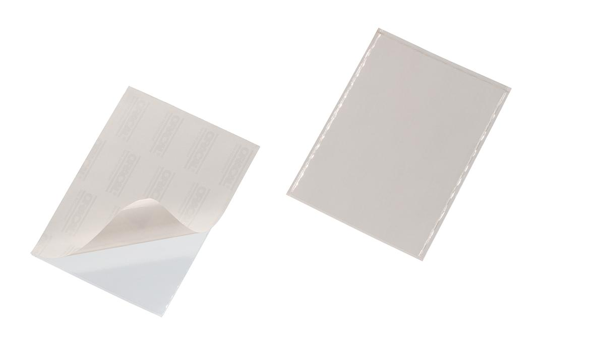 Image for Durable Pocketfix  Self Adhesive Top Opening A5 Ref 8294 [Pack 25]