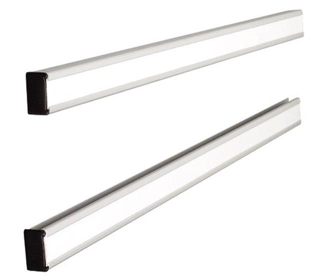 Image for Nobo T-Card Link Bars One Pair W772mm Card Size 24 Ref 1900413