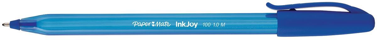 Paper Mate InkJoy 100 Ballpoint Pen 1.0 Tip 0.7mm Line Blue Ref S0957130 [Pack 50]