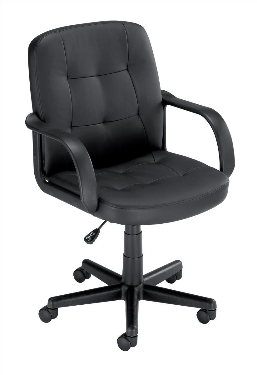 Image for Influx Boss2 SoHo Managers Armchair Seat W470xD480xH430-550mm Backrest Height 470mm Black