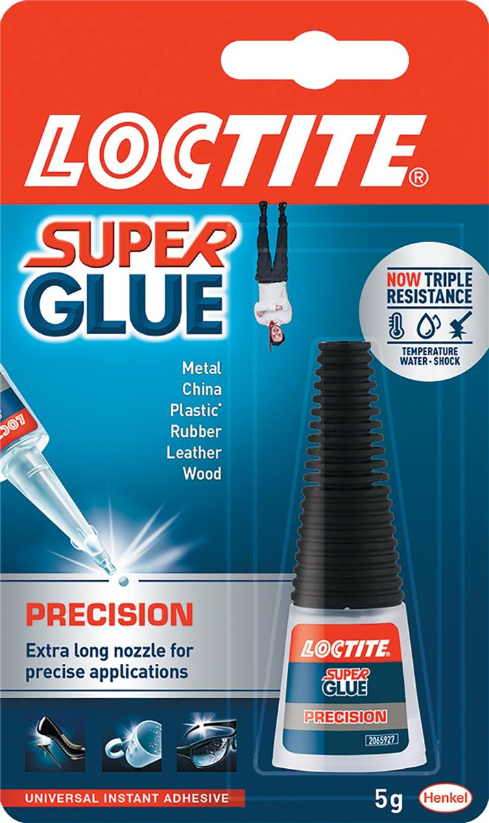 Image for Loctite Super Glue Precision Bottle with Extra-long Nozzle 5g Ref 80001611