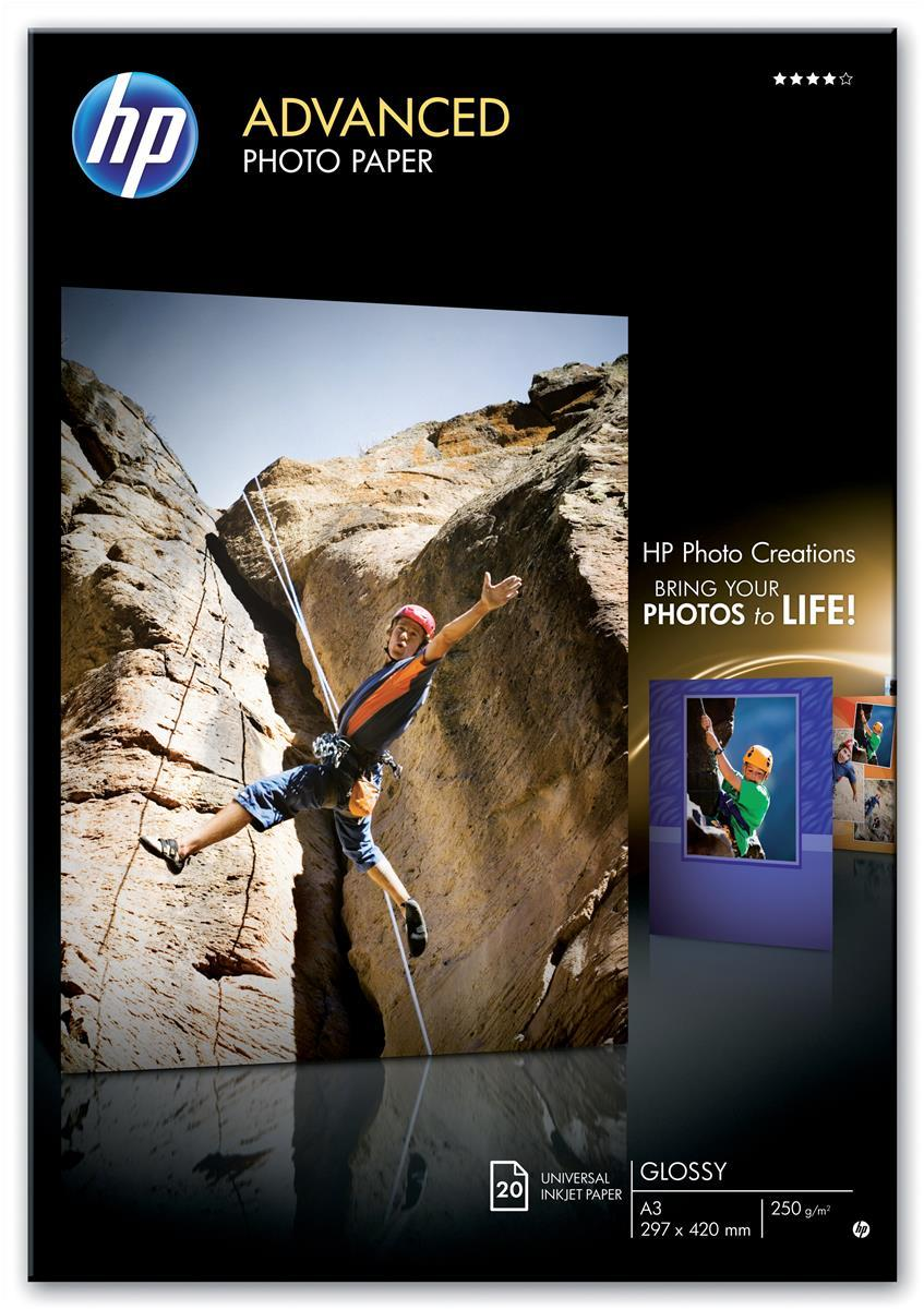 Image for Hewlett Packard [HP] Advanced Photo Paper Glossy 250gsm A3 Ref Q8697A [20 Sheets]