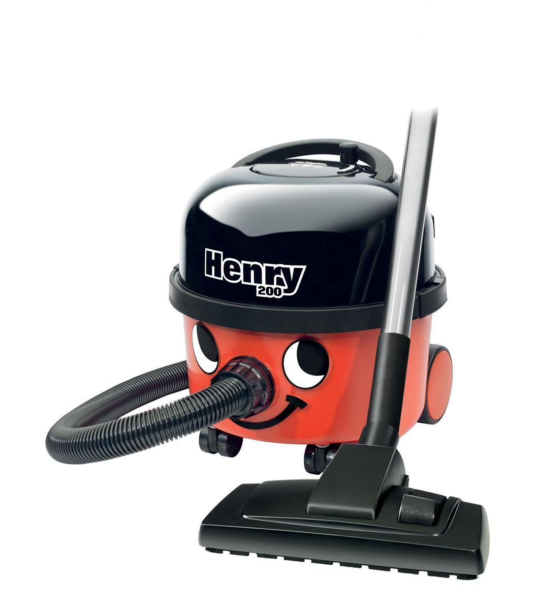 Numatic Henry Vacuum Cleaner 580W 6 Litre 6.6kg W340xD340xH370mm Red Ref HVR160