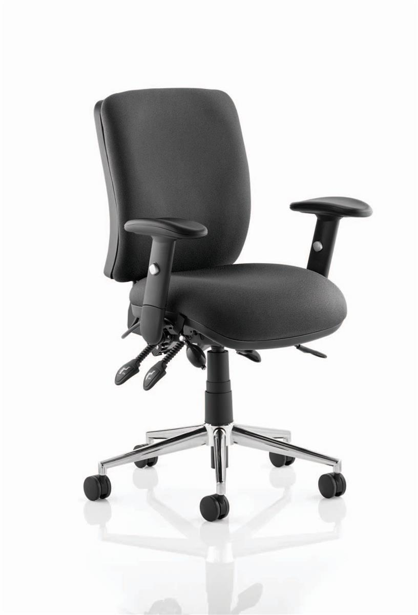 Image for Sonix Support Chiro Chair Adjustable Black