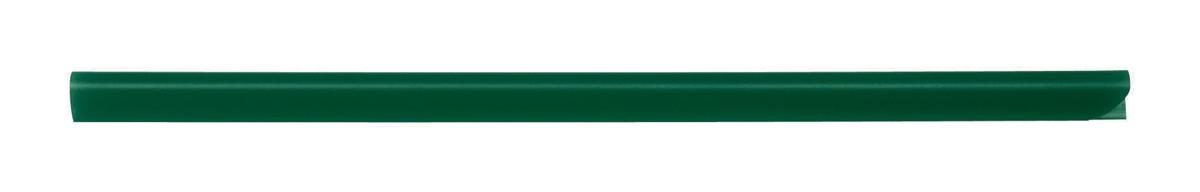 Image for Spine Bars for 60 Sheets A4 Capacity 6mm Green [Pack 50]