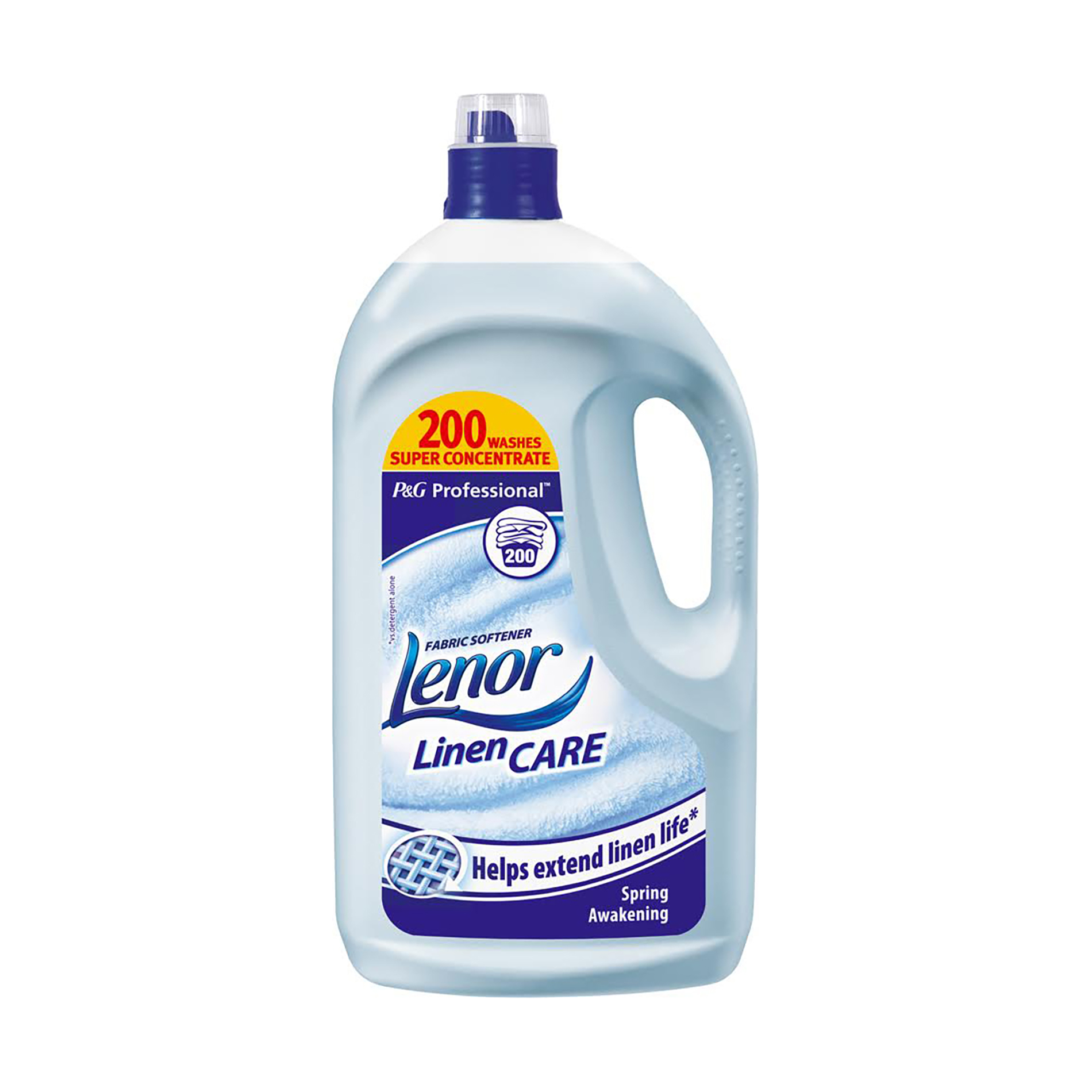 Laundry Basket Lenor Professional Fabric Softener Spring Awakening 200 Washes 4 Litre Ref 87406