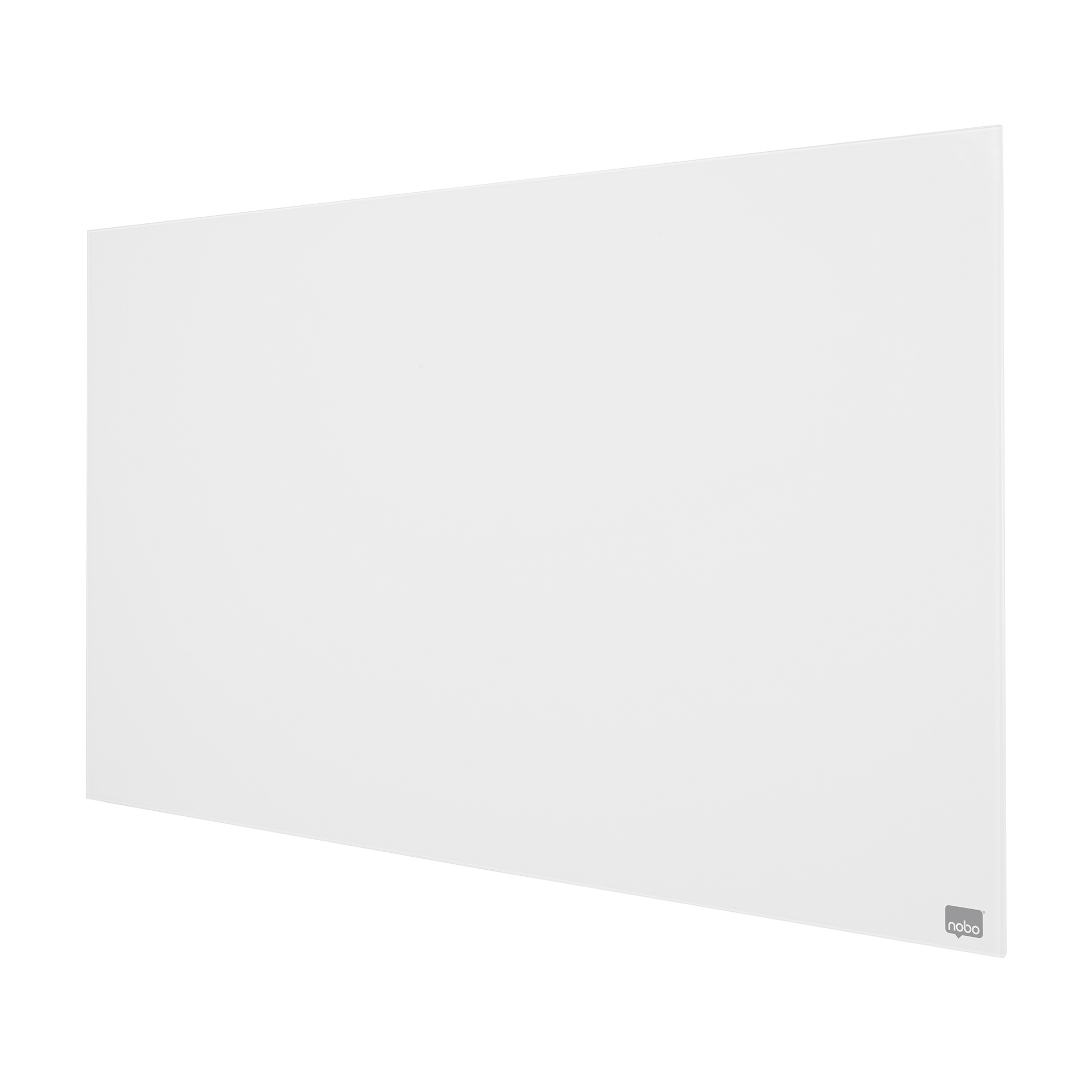 Nobo Widescreen 45 inch WhiteBrd Glass Magnetic Scratch-Resistant Fixings Inc W993xH559mm Wht Ref 1905176