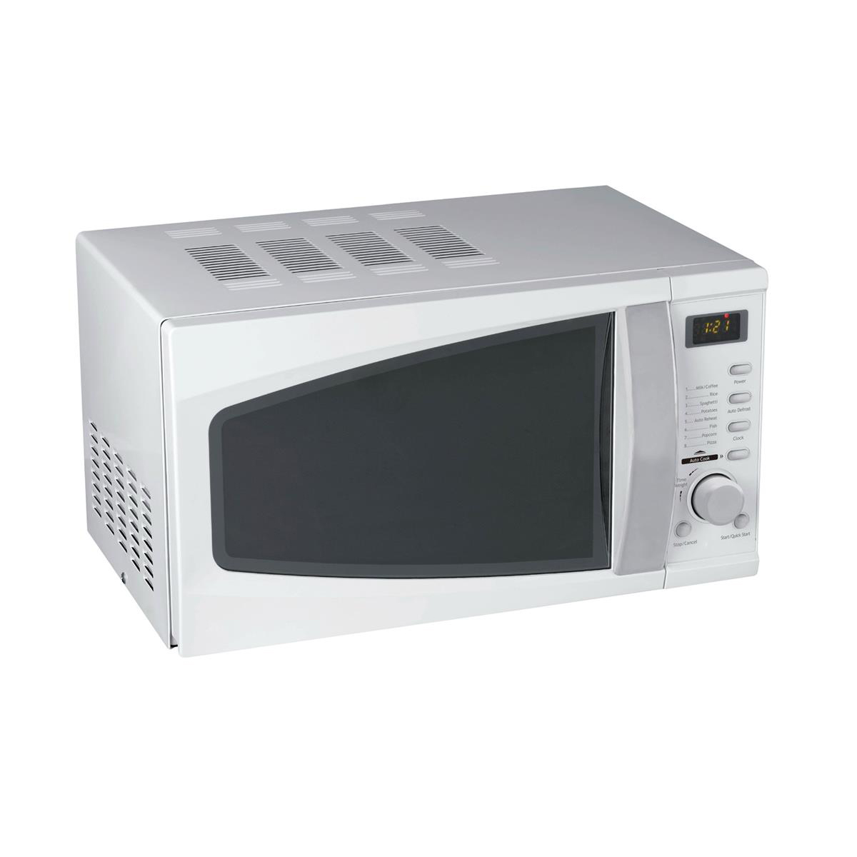 Kitchen Appliances 5 Star Facilities Microwave Oven 800W Digital 20 Litre Silver