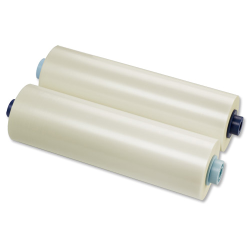 GBC Laminating Film Roll Gloss 150 micron 305mmx75m Ref 3400927EZ Pack 2