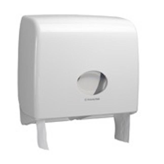 Kimberly-Clark AQUARIUS Jumbo Non-Stop Toilet Tissue Dispenser W446xD129xH382mm White Ref 6991
