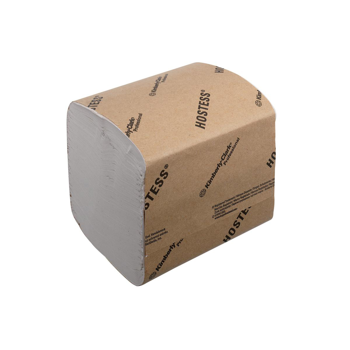 Hostess Toilet Tissue Bulk Folded 186x108mm 520 Sheets per sleeve 1-ply White Ref 4471 Pack 36