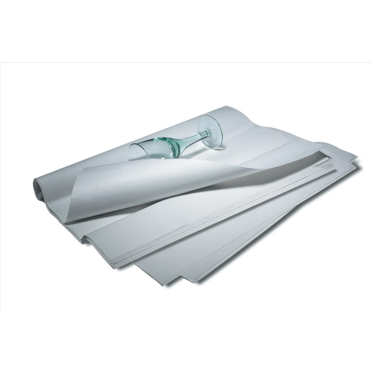 Tissue Paper 100 percent Recycled Sheet 500x750mm White Pack 480