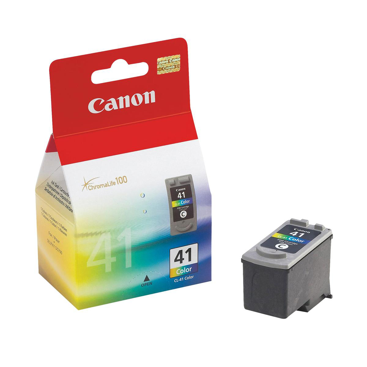 Canon CL-41 Inkjet Cartridge Page Life 308pp Colour Ref 0617B001