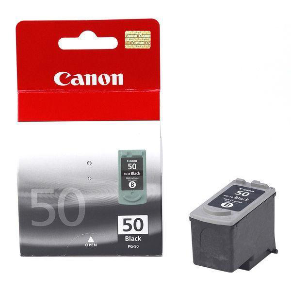 Canon PG-50 Inkjet Cartridge Page Life 510pp Black Ref 0616B001