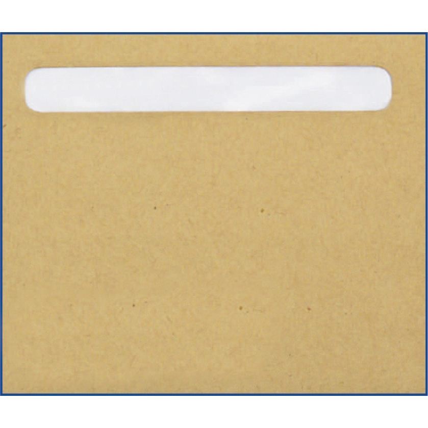 Pegasus Compatible Wage Envelopes with Window 128x110mm Manilla Ref PS45 Box 1000