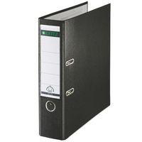 Leitz Lever Arch File Plastic 80mm Spine Foolscap Black Ref 11101195 Pack 10