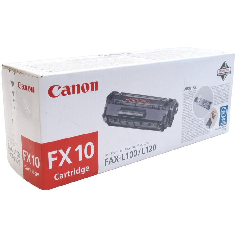 Image for Canon FX10 Laser Toner Cartridge Black Ref 0263B002