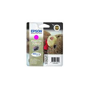 Epson T0613 Inkjet Cartridge Teddybear Page Life 250pp 8ml Magenta Ref C13T06134010