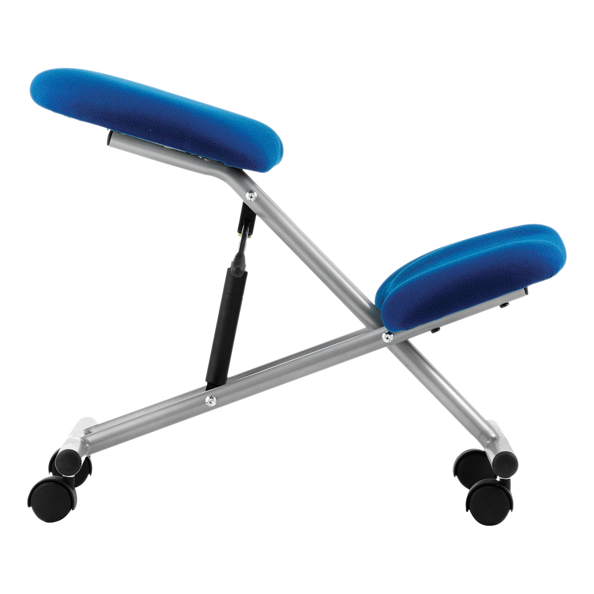 Trexus Kneeling Chair Blue 430x330x480-620mm Ref OP000071