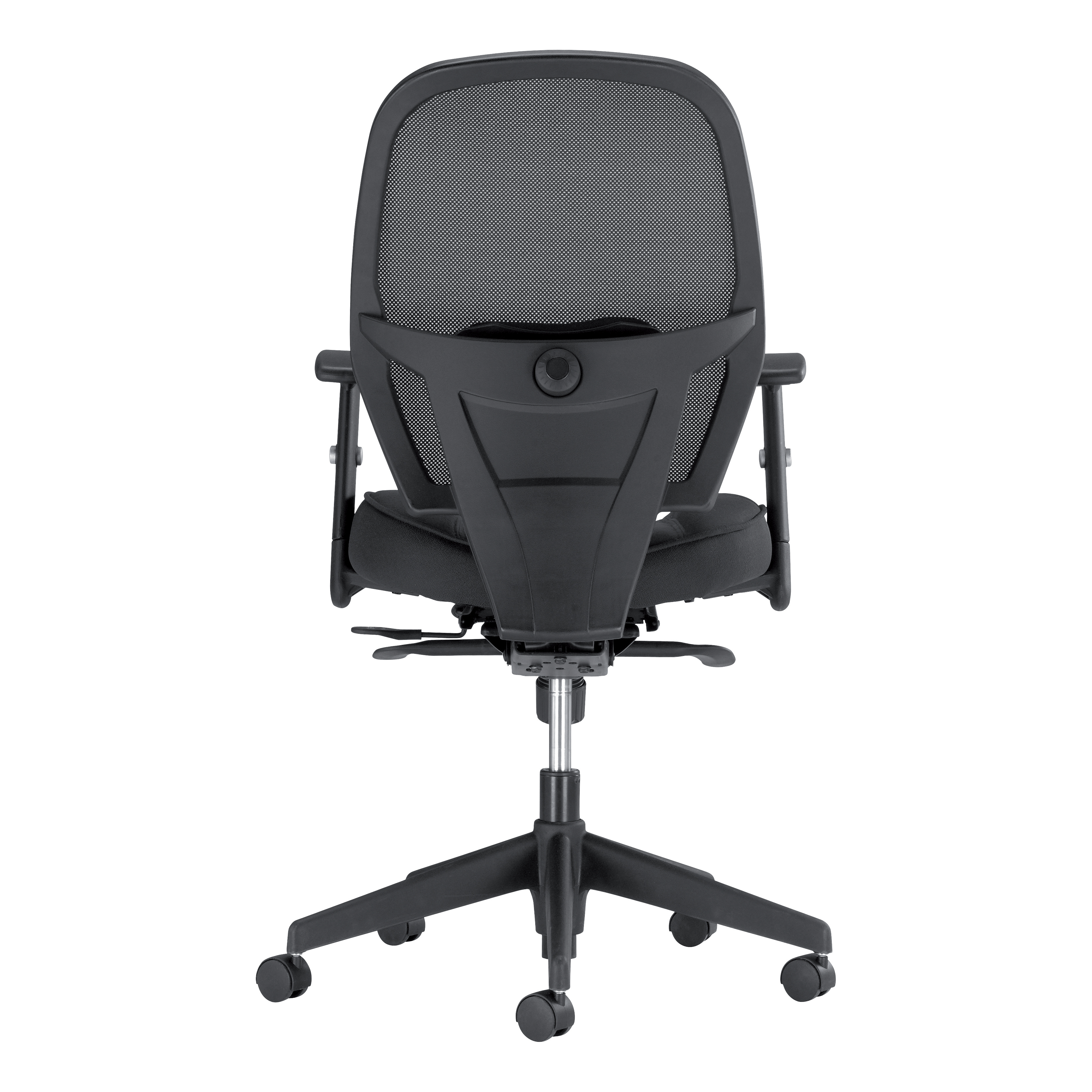 Trexus Amaze Synchronous Mesh Chair Black 520x520x470-600mm Ref 11186-02Black